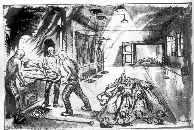Kz Auschwitz Gaskammer Kratzspuren